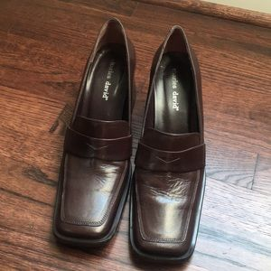 Brown leather Charles David shoes
